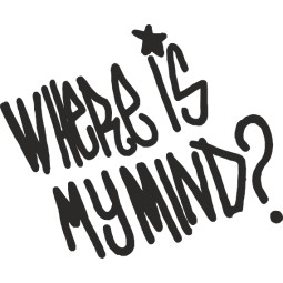 Sticker adhésif Where is my mind