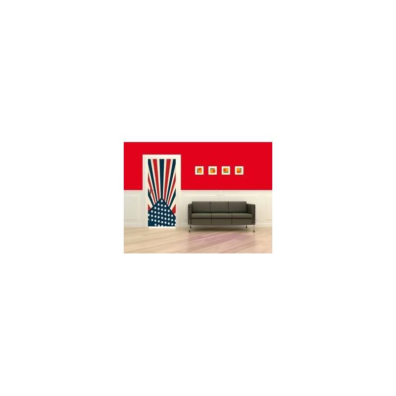Sticker Décor de porte