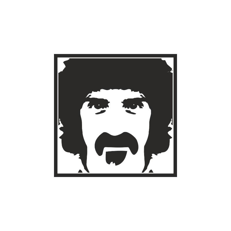 Sticker adhésif ZAPPA