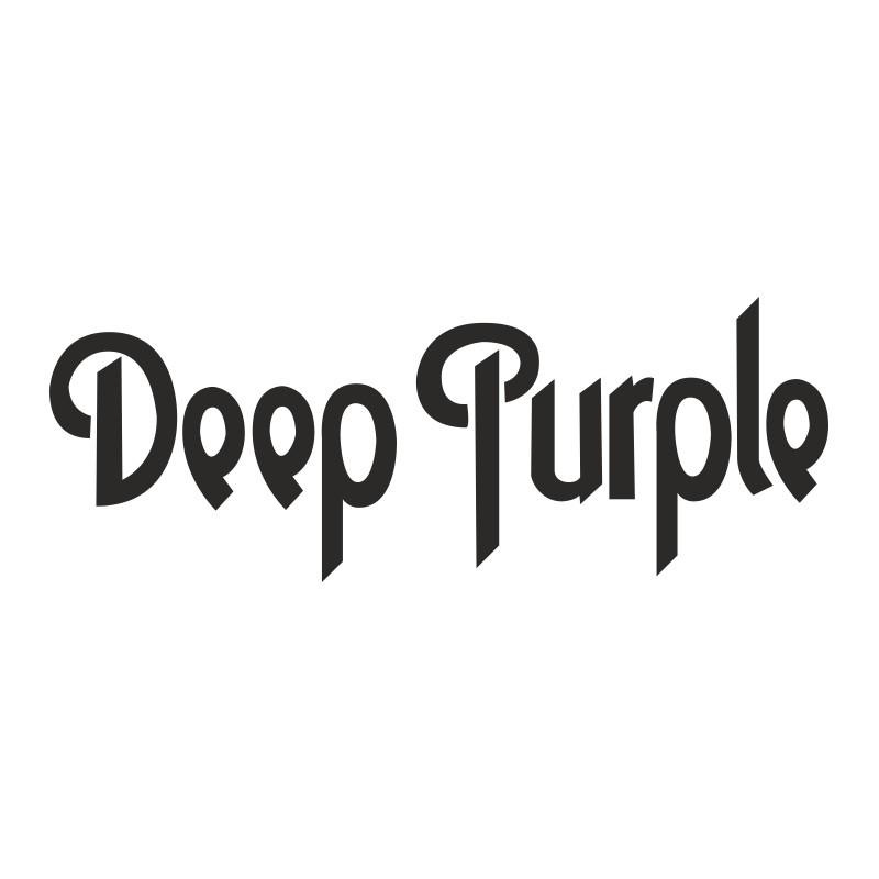 Sticker vinyl Deep Purple