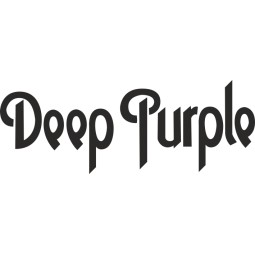 Sticker vinyl Deep Purple