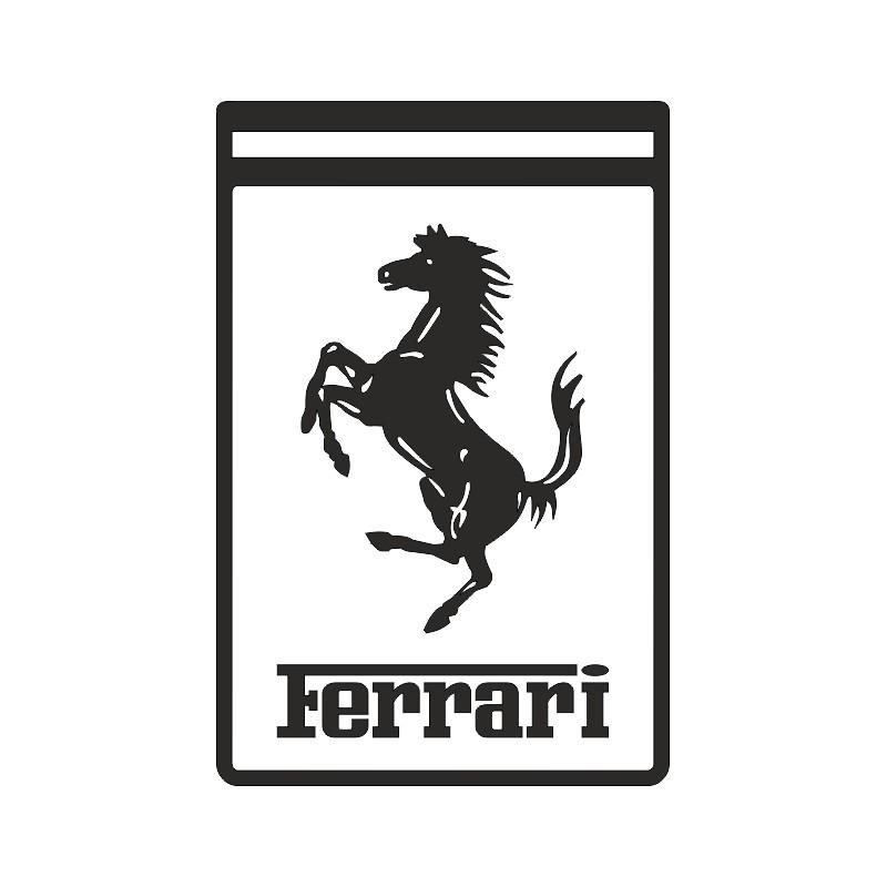 Sticker adhésif logo Ferrari