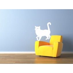 Sticker mural le chat