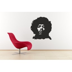 Sticker vinyl Jimmy Hendrix