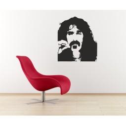 Sticker vinyl Zappa