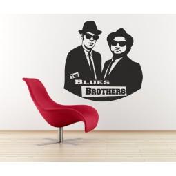 Sticker vinyl Blues Brothers