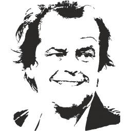 Sticker déco Jack Nicholson