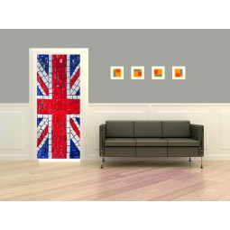 Stickers porte Union Jack