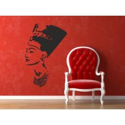 Sticker vinyl Nefertiti