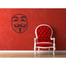 Sticker adhésif Anonymous
