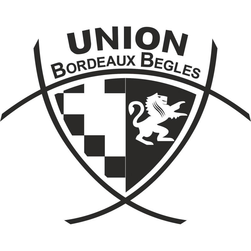 Sticker Logo Bordeaux Begles