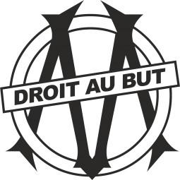Sticker déco Olympique Marseille