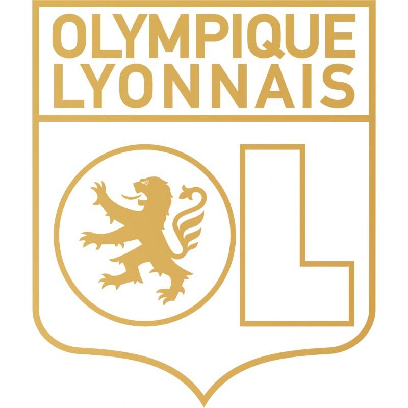 Sticker vinyl déco Olympique Lyon