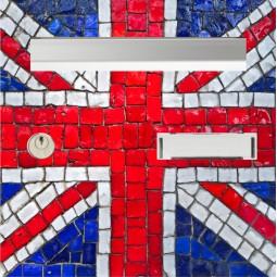 sticker boîte au lettre drapeau anglais