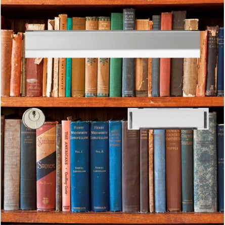 sticker boîte au lettre bibliothèque