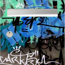 sticker de boîte aux lettres graffitis