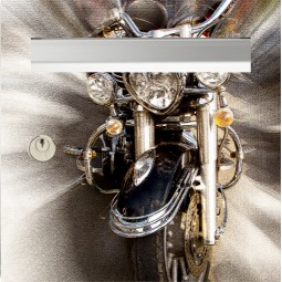 sticker de boîte aux lettres moto US