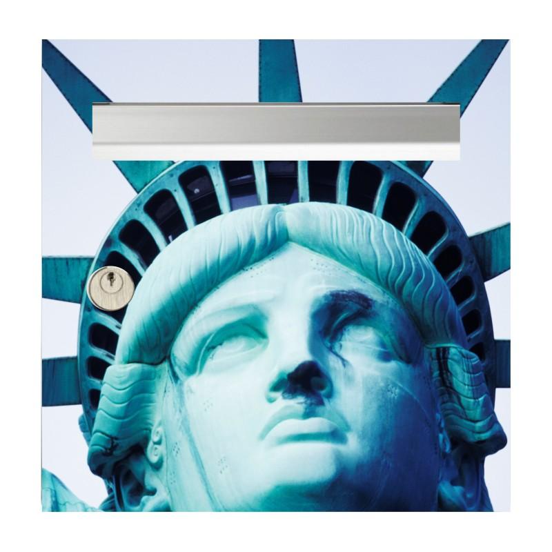 sticker de boîte aux lettres statue de la Liberté