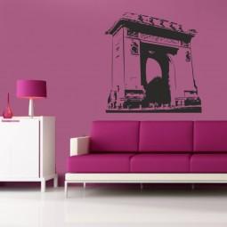 sticker adhésif Arc de Triomphe