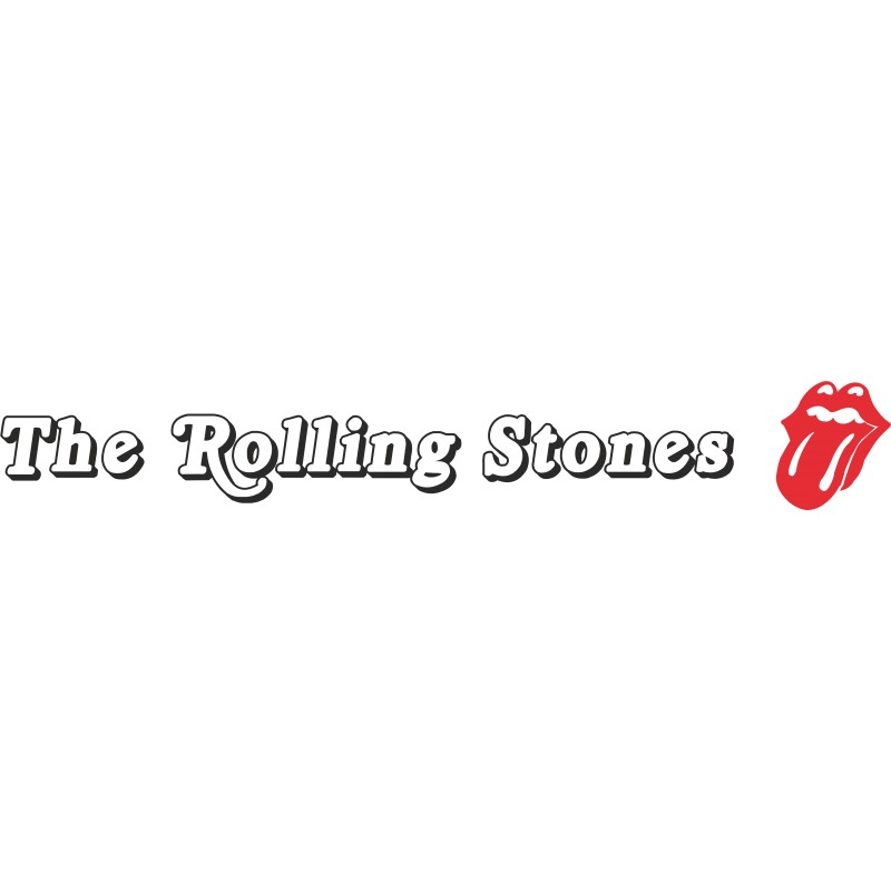 Autocollant les Rolling Stones