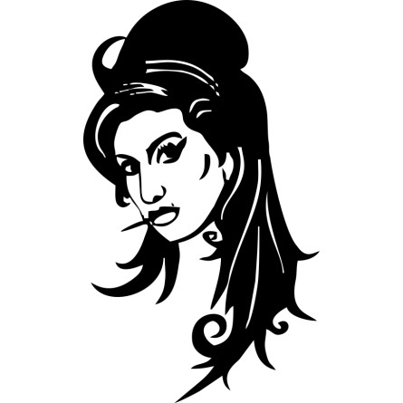 sticker Amy Winehouse