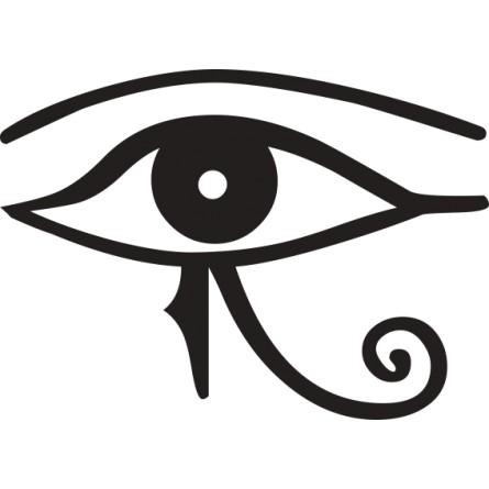 Adhésif mural symbole Egyptien