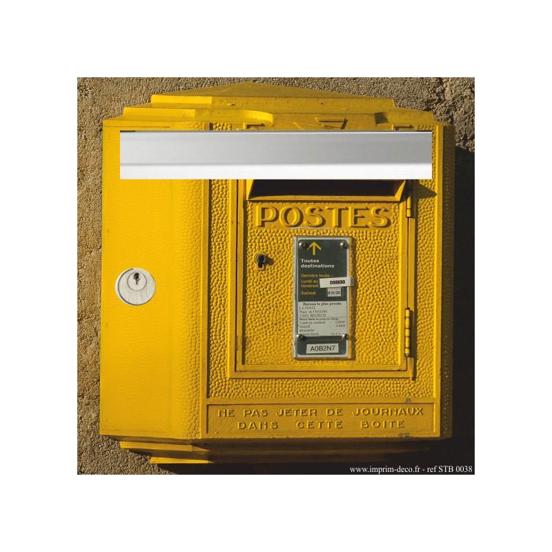 sticker boîte aux lettres ancienne