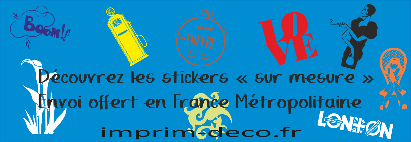 Stickers sur mesure